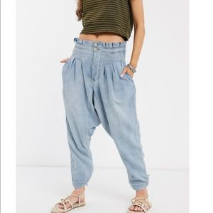 Free People Mover & Shaker Harem Jeans